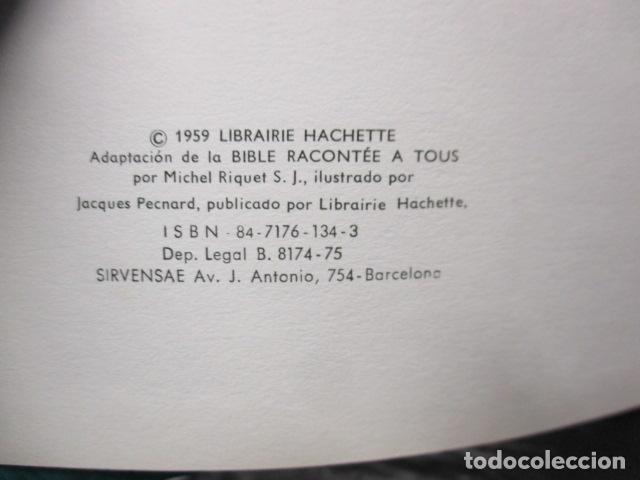Libros de segunda mano: La Biblia contada a todos por Michel Riquet de Ed. Timun Mas - Foto 10 - 263107010