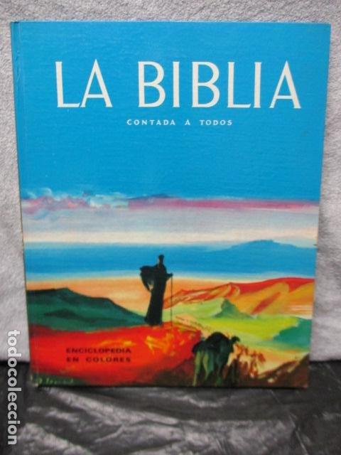 LA BIBLIA CONTADA A TODOS POR MICHEL RIQUET DE ED. TIMUN MAS (Libros de Segunda Mano - Literatura Infantil y Juvenil - Otros)