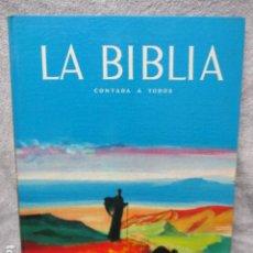 Libros de segunda mano: LA BIBLIA CONTADA A TODOS POR MICHEL RIQUET DE ED. TIMUN MAS. Lote 263107010