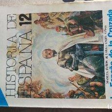Libros de segunda mano: HISTORIA DE ESPAÑA,LA ESPAÑA DE LA CRUZADA. Lote 202829443