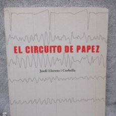 Libros de segunda mano: EL CIRCUITO DE PAPEZ - JORDI LLORENS I CORBELLA (!!DIFICIL!! TIRADA DE SOLO 400 EJEMPLARES). Lote 202831496