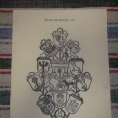 Libros de segunda mano: LIBRO BLASÓN GENERAL Y NOBLEZA DEL UNIVERSO. PEDRO GRATIA DEI. CORIA 1498-MADRID 1882. FACSIMIL.. Lote 202837221