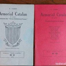 Livros em segunda mão: ARMORIAL CATALÁN A CAZES. Lote 202880351