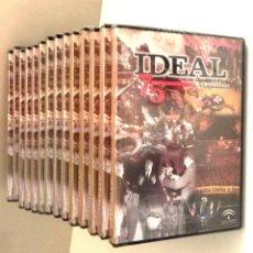 Libros de segunda mano: LOTE DE CD-ROM IDEAL EN PORTADAS 75 AÑOS CON GRANADA DIARIO PERIÓDICO HISTORIA PERIODISMO / 15 CDROM. Lote 202896203