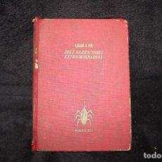 Libros de segunda mano: DIEZ NARRACIONES EXTRAORDINARIAS EDGAR ALLAN POE. Lote 202916478