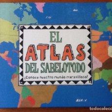 Libros de segunda mano: EL ATLAS DEL SABELOTODO. IMAGINARIUM CÍRCULO DE LECTORES. Lote 202958615