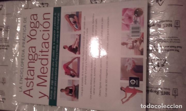 Libros de segunda mano: La enciclopedia práctica de Astanga Yoga y Meditación. Jean Hall y Doriel Hall - Foto 2 - 202972445