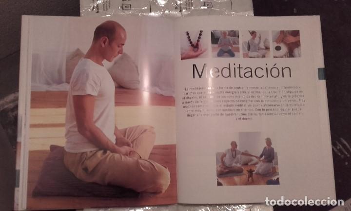 Libros de segunda mano: La enciclopedia práctica de Astanga Yoga y Meditación. Jean Hall y Doriel Hall - Foto 3 - 202972445