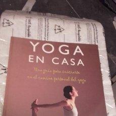 Libros de segunda mano: YOGA EN CASA. TARA FRASER. Lote 202973361
