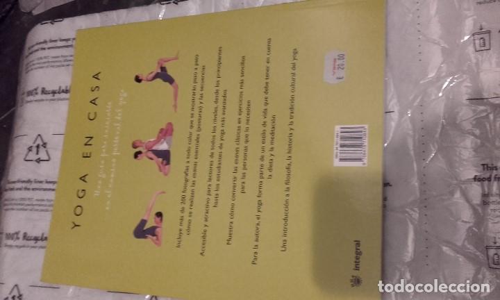 Libros de segunda mano: Yoga en casa. Tara Fraser - Foto 2 - 202973361