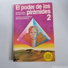 Libros de segunda mano: EL PODER DE LAS PIRAMIDES 2 - EMILIO SALAS - ROMAN CANO - TDK94. Lote 203003840