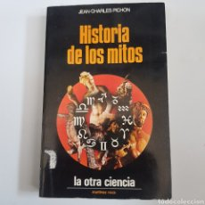 Libros de segunda mano: HISTORIAS DE LOS MITOS - JEAN CHARLES PICHON - TDK59. Lote 203094395