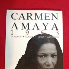 Livros em segunda mão: GITANOS. FLAMENCO. CARMEN AMAYA. COLITA. JULIO UBIÑA. Lote 203131880