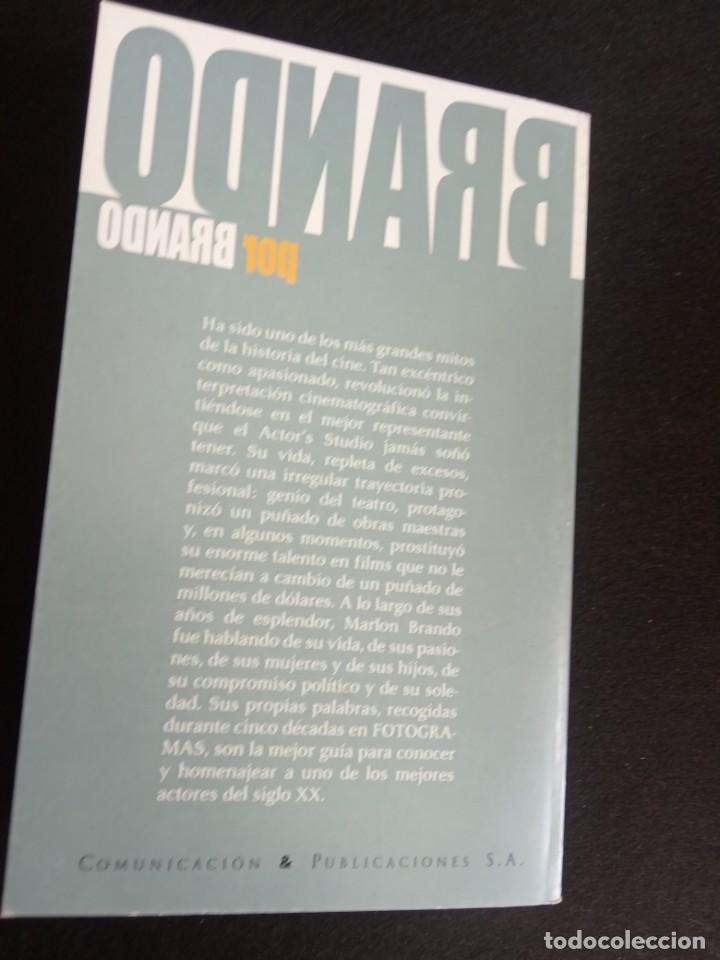 Libros de segunda mano: LIBRO LAS OPINIONES DEL MITO BRANDO - Foto 8 - 203144286