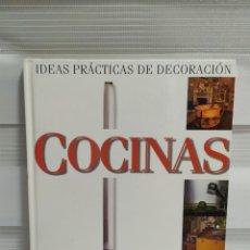 Libros de segunda mano: IDEAS PRÁCTICAS DE DECORACIÓN COCINAS, JOHNNY GREY, EDICIONES B, GRUPO ZETA,. Lote 203153105
