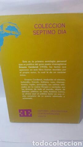 Libros de segunda mano: Ernesto Cardenal. Antología - Foto 2 - 203216196