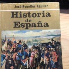 Libros de segunda mano: HISTORIA DE ESPAÑA TOMO II. EDAD MODERNA Y CONTEMPORANEA. - JOSÉ REPOLLÉS AGUILAR. Lote 203271240