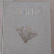 Libros de segunda mano: YAMBO : SAFARI EN LAS SELVAS DE TANGANYICA ( JOSÉ M° ORIOL ). Lote 203403200