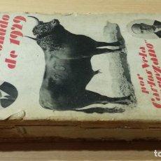 Libros de segunda mano: RESUMEN PITONUDO DE 1929 - JEREZANO Y DON PARANDO - TAURINO - TOROS / ESQ301. Lote 203446500