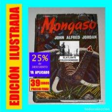 Libri di seconda mano: MONGASO - JON ALFRED JORDAN - TEMA CACERÍAS EN ÁFRICA - HISPANO EUROPEA - 1959 - 39 EUROS FINAL. Lote 200596843