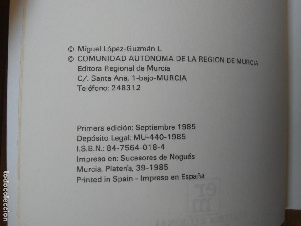 Libros de segunda mano: Oficios artísticos murcianos Miguel López-Guzmán L. Editora regional de Murcia 1985 - Foto 9 - 203575228