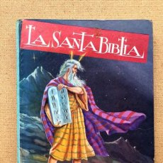 Libros de segunda mano: LA SANTA BIBLIA / NIHIL OBSTAT / JOSÉ ARDANUY /. Lote 297266343