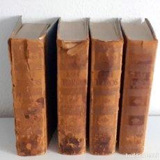 Libros de segunda mano: LOS TOROS TRATADO TECNICO E HISTORICO, 4 TOMOS. ESPASA CALPE S.A 1967 1965 1969,J MARIA COSSIO. Lote 203622040