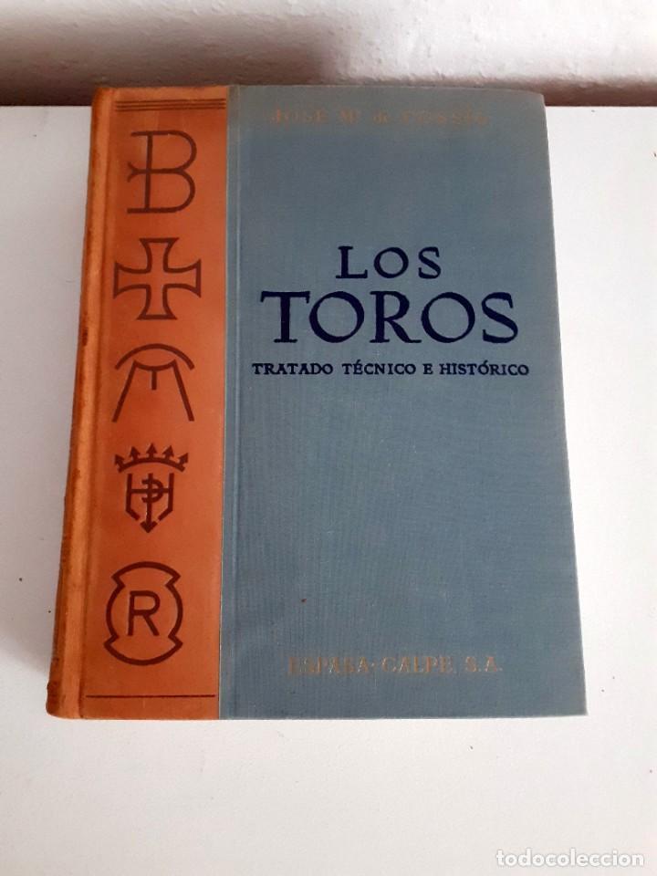 Libros de segunda mano: LOS TOROS TRATADO TECNICO E HISTORICO, 4 tomos. ESPASA CALPE S.A 1967 1965 1969,J MARIA COSSIO - Foto 19 - 203622040