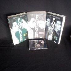 Libros de segunda mano: CRISTINA BOSCA - FOREVER (TRILOGÍA - GEMELIERS) + CD Y DVD, EDICIÓN ESPECIAL - FIRMADO. Lote 203776187