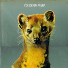 Libros de segunda mano: FAUNA EUROPEA,EDITORIAL TIMUM MAS. Lote 203804447