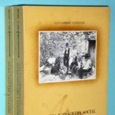 Libros de segunda mano: RIQUEZA Y TRAGEDIA SOCIAL. HISTORIA DE LA CLASE OBRERA EN LA PROVINCIA DE JAEN (1820-1939). 2 TOMOS.. Lote 203915581