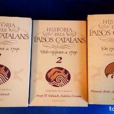 Libros de segunda mano: HISTORIA DELS PAÏSOS CATALANS - A. BALCELLS. Lote 203976770