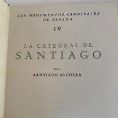 Libros de segunda mano: LA CATEDRAL DE SANTIAGO, LIBRO. Lote 203999182