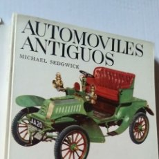 Libros de segunda mano: AUTOMÓVILES ANTIGUOS. Lote 204136513