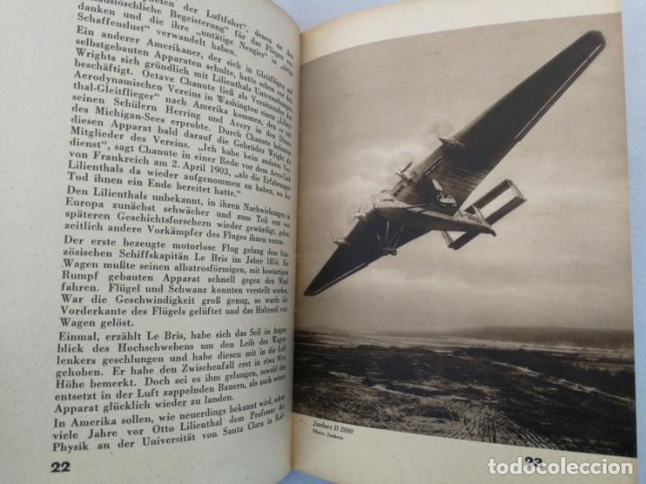 Libros de segunda mano: ANTIGUO Y PRECIOSO LIBRO DIE WELT DER FLIEGER - EL MUNDO DE LOS PILOTOS - AVIACION - EN ALEMAN - 75 - Foto 3 - 204139173