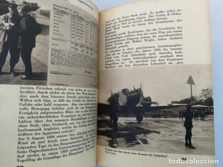 Libros de segunda mano: ANTIGUO Y PRECIOSO LIBRO DIE WELT DER FLIEGER - EL MUNDO DE LOS PILOTOS - AVIACION - EN ALEMAN - 75 - Foto 4 - 204139173