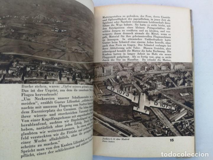 Libros de segunda mano: ANTIGUO Y PRECIOSO LIBRO DIE WELT DER FLIEGER - EL MUNDO DE LOS PILOTOS - AVIACION - EN ALEMAN - 75 - Foto 5 - 204139173