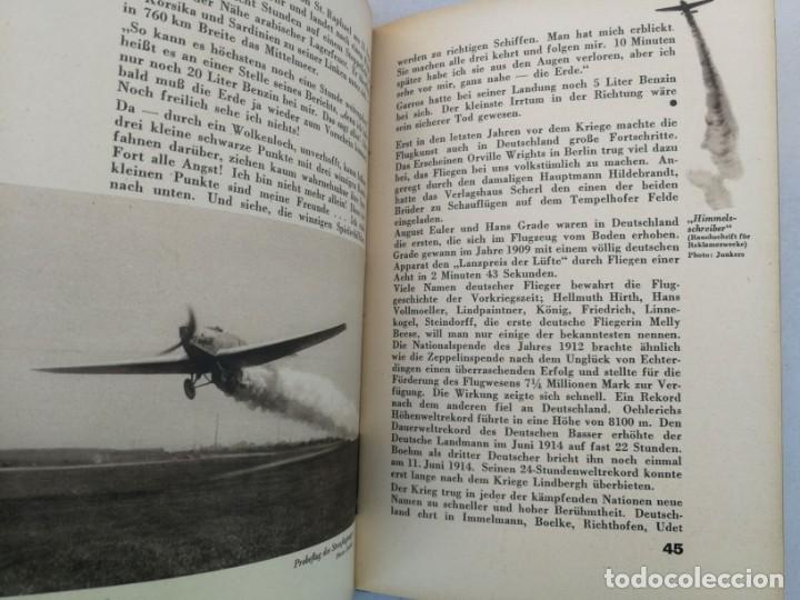 Libros de segunda mano: ANTIGUO Y PRECIOSO LIBRO DIE WELT DER FLIEGER - EL MUNDO DE LOS PILOTOS - AVIACION - EN ALEMAN - 75 - Foto 6 - 204139173