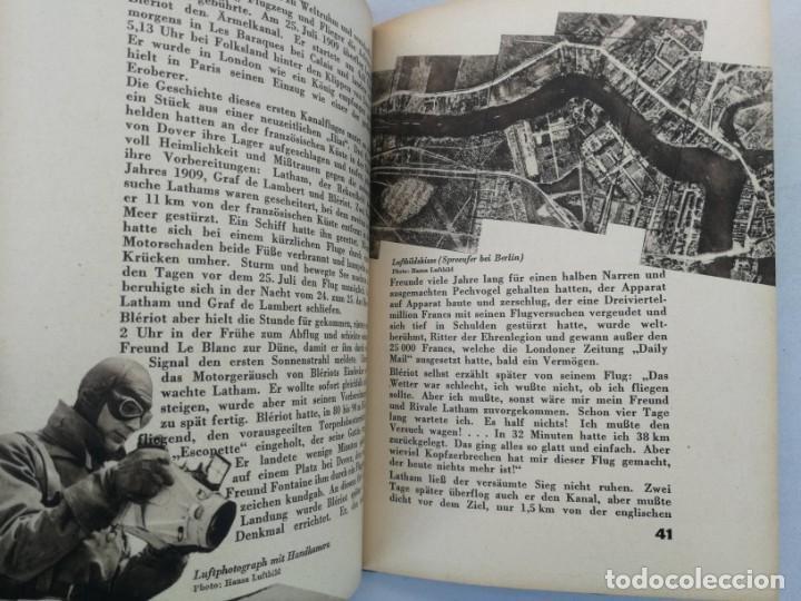 Libros de segunda mano: ANTIGUO Y PRECIOSO LIBRO DIE WELT DER FLIEGER - EL MUNDO DE LOS PILOTOS - AVIACION - EN ALEMAN - 75 - Foto 7 - 204139173