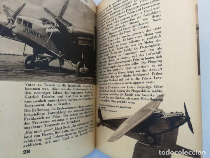 Libros de segunda mano: ANTIGUO Y PRECIOSO LIBRO DIE WELT DER FLIEGER - EL MUNDO DE LOS PILOTOS - AVIACION - EN ALEMAN - 75 - Foto 8 - 204139173