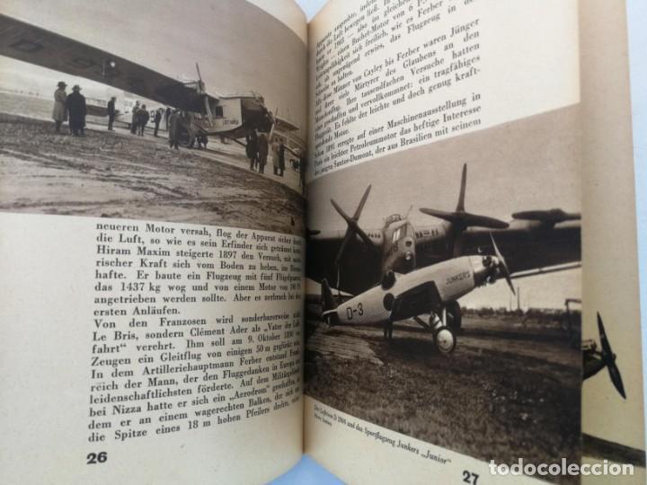 Libros de segunda mano: ANTIGUO Y PRECIOSO LIBRO DIE WELT DER FLIEGER - EL MUNDO DE LOS PILOTOS - AVIACION - EN ALEMAN - 75 - Foto 9 - 204139173