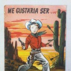 Libros de segunda mano: DIBUJOS DE BADIA - ME GUSTARIA SER UN AVIADOR, JOCKEY, UN AS AL VOLANTE, MILITAR, CAMPEON DE FUTBOL,. Lote 204141811