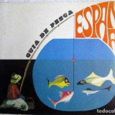 Libros de segunda mano: GUIA DE PESCA ESPAÑA. Lote 204179511