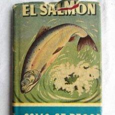 Libros de segunda mano: EL SALMON COMO SE PESCA – COOMBE RICHARDS. Lote 204181595