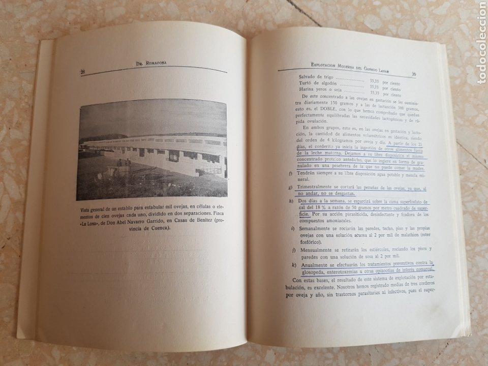 Libros de segunda mano: Explotación Moderna del Ganado Lanar Vol. 1 1965. Editorial Veterinaria - Foto 3 - 204307813