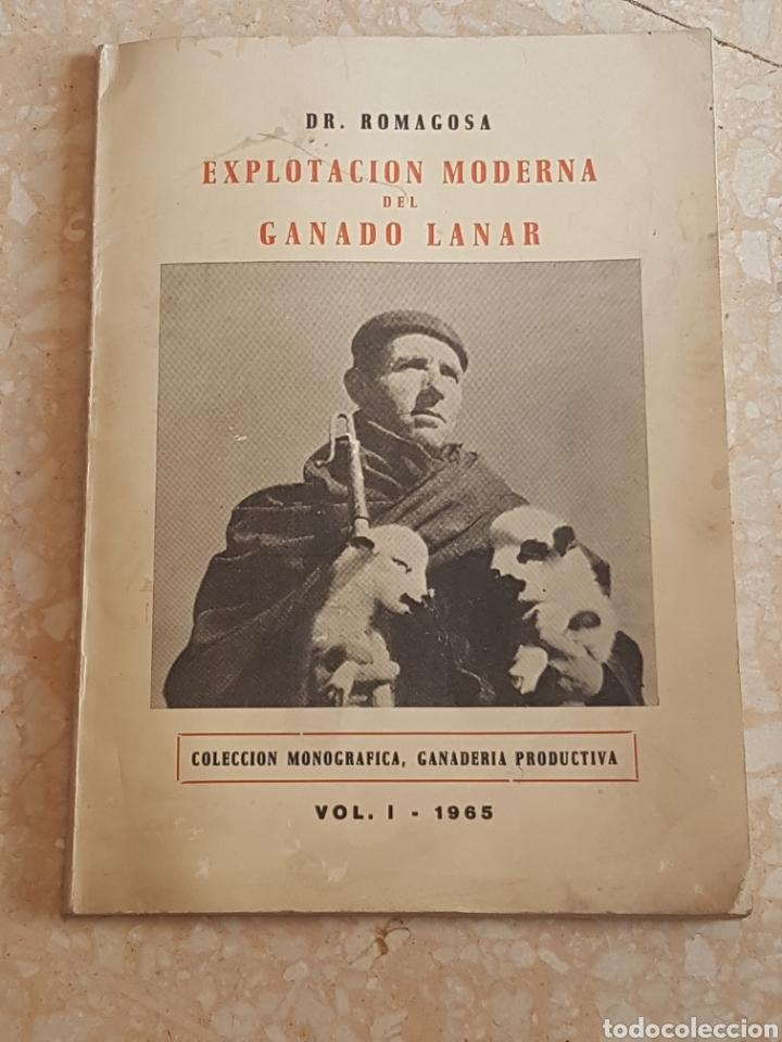 EXPLOTACIÓN MODERNA DEL GANADO LANAR VOL. 1 1965. EDITORIAL VETERINARIA (Libros de Segunda Mano - Ciencias, Manuales y Oficios - Otros)