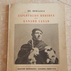 Libros de segunda mano: EXPLOTACIÓN MODERNA DEL GANADO LANAR VOL. 1 1965. EDITORIAL VETERINARIA. Lote 204307813