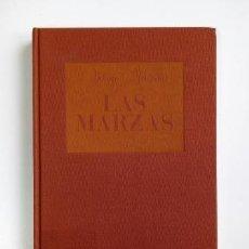 Libros de segunda mano: LAS MARZAS. RITUALES DE IDENTIDAD Y SOCIABILIDAD MASCULINAS.- ANTONIO MONTESINO (1992). Lote 204353431