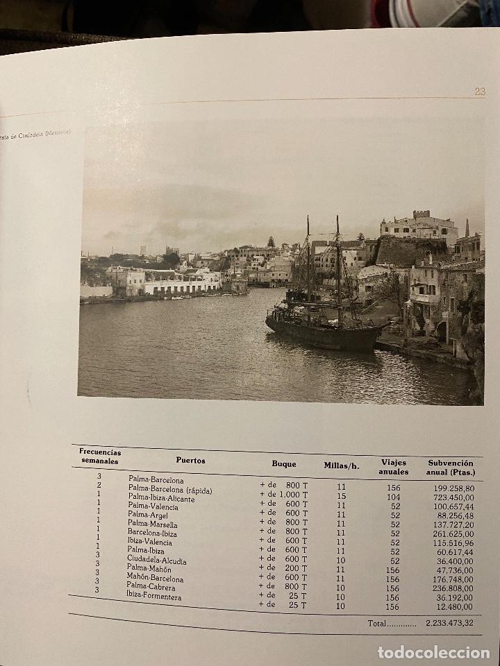 Libros de segunda mano: TODO AVANTE. HISTORIA DE LA COMPAÑIA NAVIERA TRANSMEDITERRANEA 1917-1992 - Foto 2 - 204368113