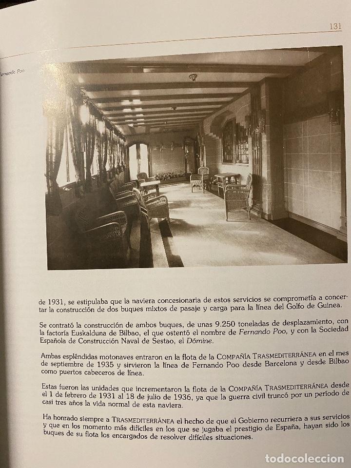 Libros de segunda mano: TODO AVANTE. HISTORIA DE LA COMPAÑIA NAVIERA TRANSMEDITERRANEA 1917-1992 - Foto 3 - 204368113